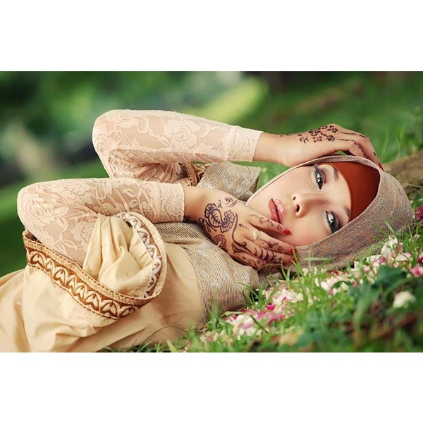 GADIS JILBAB Beauty Hijab Kerudung Model ❤ liked on Polyvore