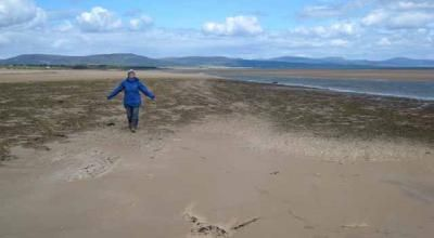 Dornoch Beach Beach. The sandy beaches have well-established sand dunes. Being situated in the Dornoch Firth, they offer stunning views to their visitors.
