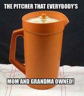 And we have one just like it in our kitchen cabinet!! Lol