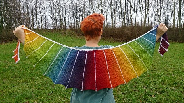 Ravelry: Sea Dragon Shawl pattern by Ambah O'Brien