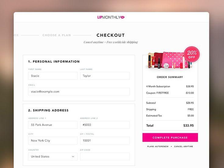 24 best UI e-commerce images on Pinterest User interface - gui designer resume