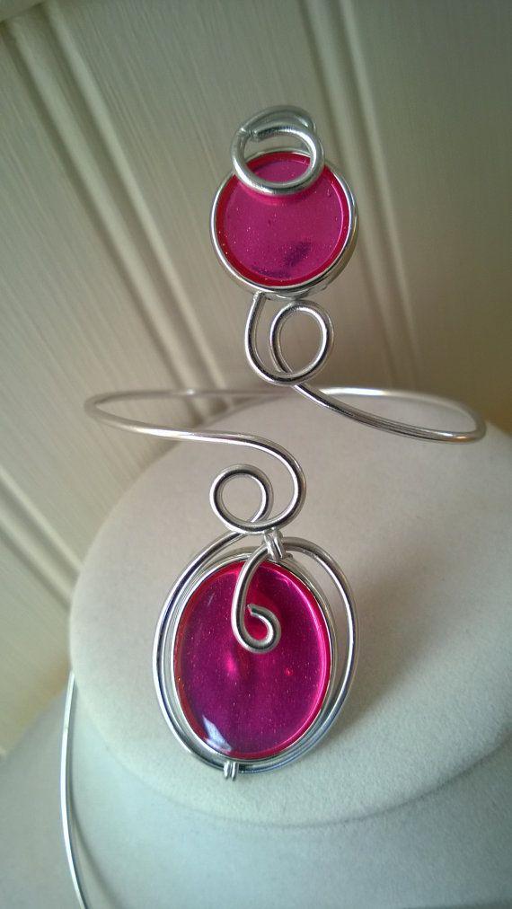 Modern jewelry Modern bracelet Wrap bracelet by LesBijouxLibellule