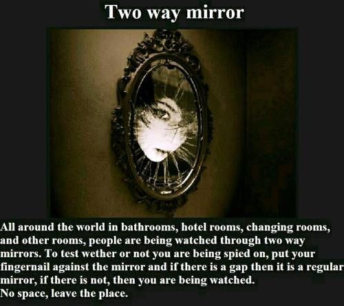 Creepypasta picture-story #36: Two-way Mirror