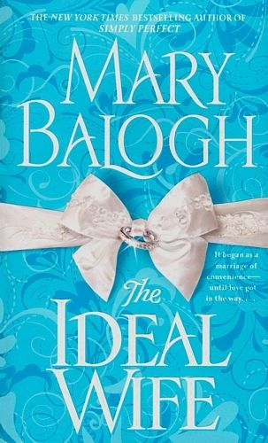 """""""If you could set me before the plainest, dullest, most ordinary female in London,"""" Miles Ripley, Earl of Severn, said, """"or in England, for that matter, I would make her an offer without further ado."""" IDEAL WIFE by Mary Balogh"""