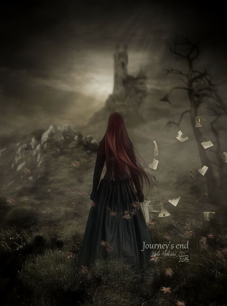 Journey's end by MelieMelusine.deviantart.com on @DeviantArt