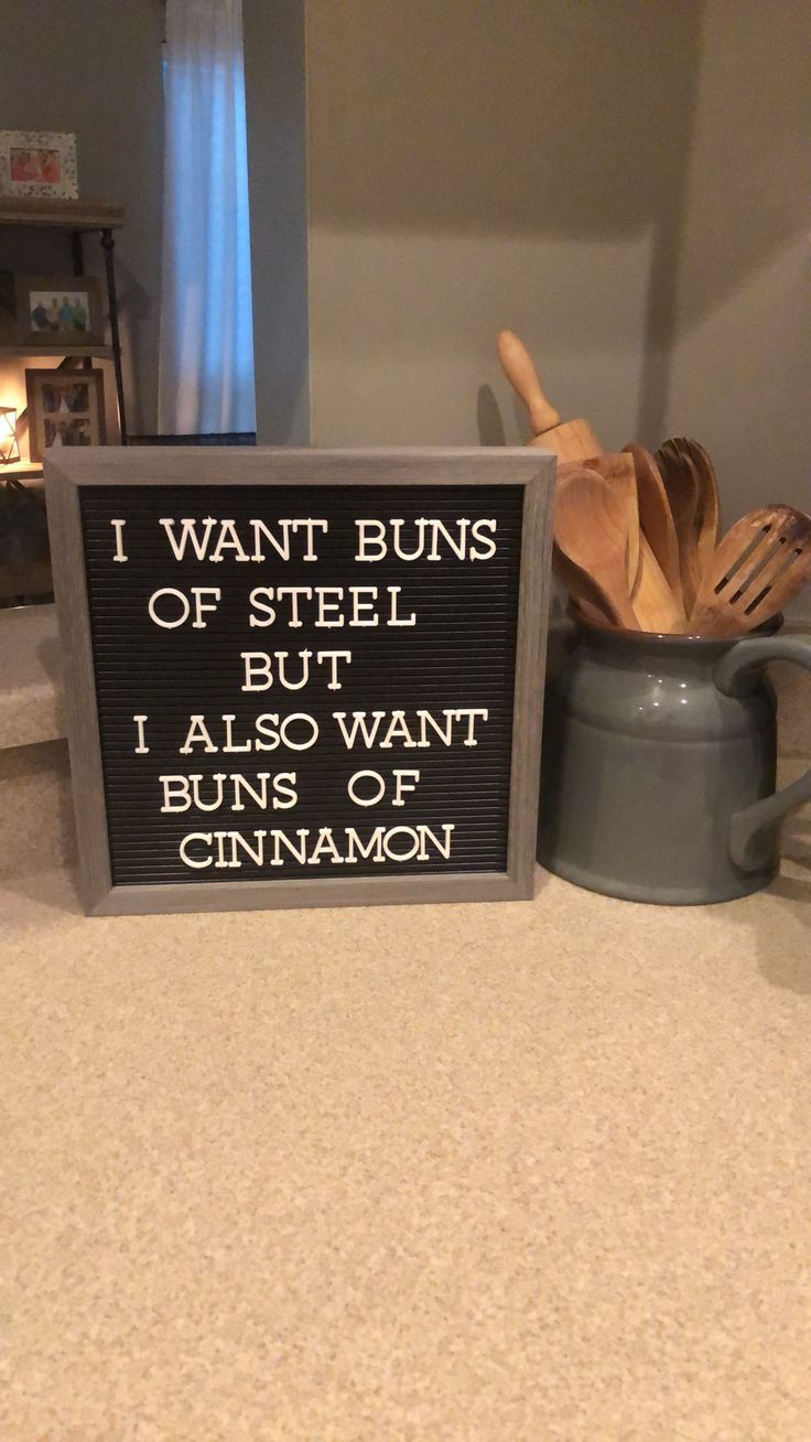 Letter board kitchen quotes