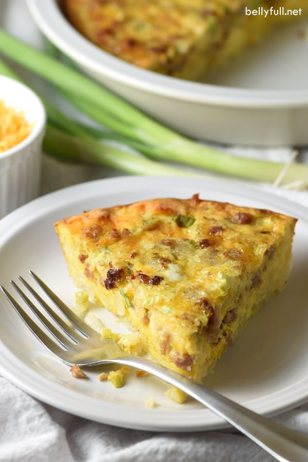 Take quiche up a notch by adding a crispy hash brown crust and flavorful sausage. Still easy and perfect for breakfast, brunch, or even dinner!