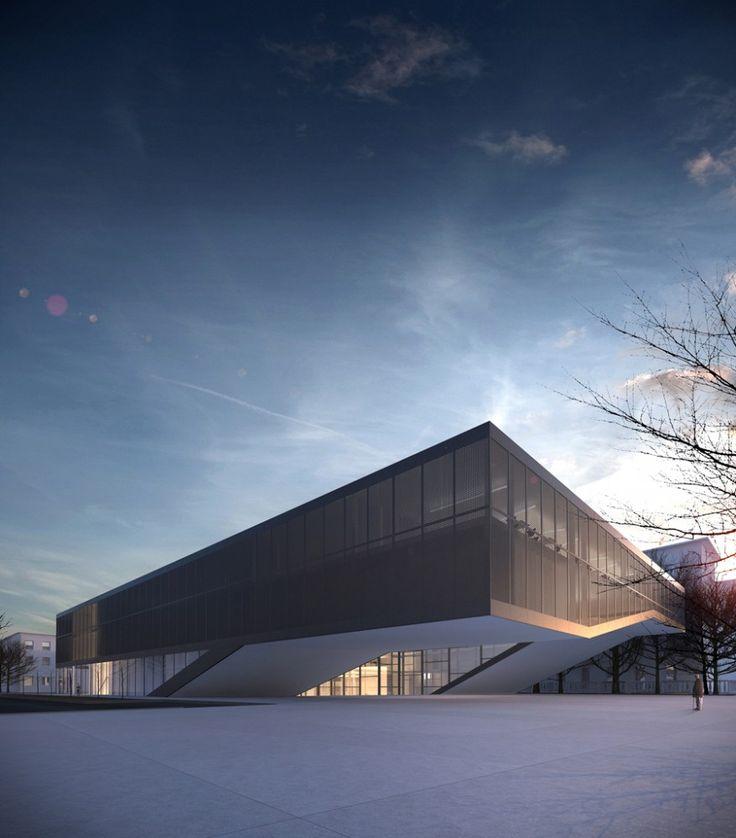 Quarter Cultural Center by Mikolai Adamus, in Gdansk, Poland