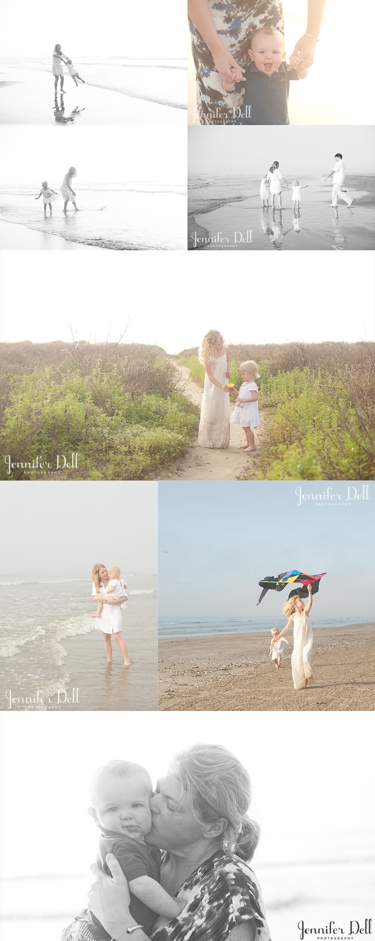 © jennifer dell photography - beach photography