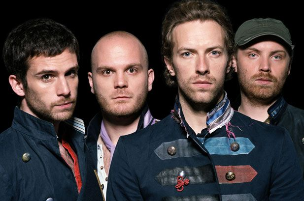 Coldplay - My favorite band at the moment.  I can't find a song of theirs that I don't love.