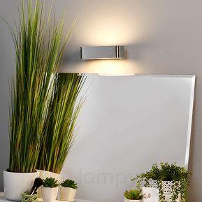 MAILEEN – chromowana lampa ścienna z żarówką LED  475 pln 18 cm