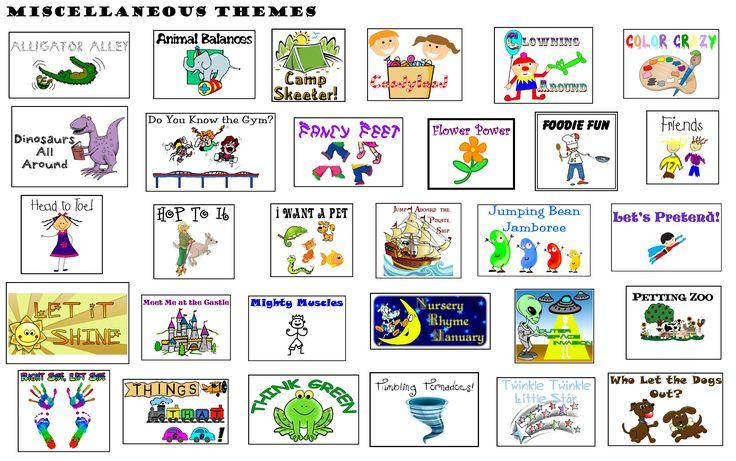 Preschool Gymnastics, Lesson Plans