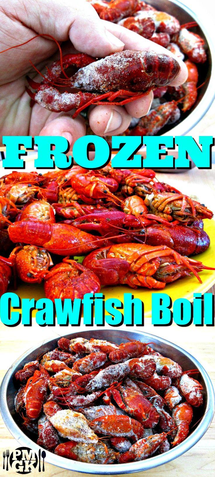 Frozen crawfish boil how to cook frozen crawfish