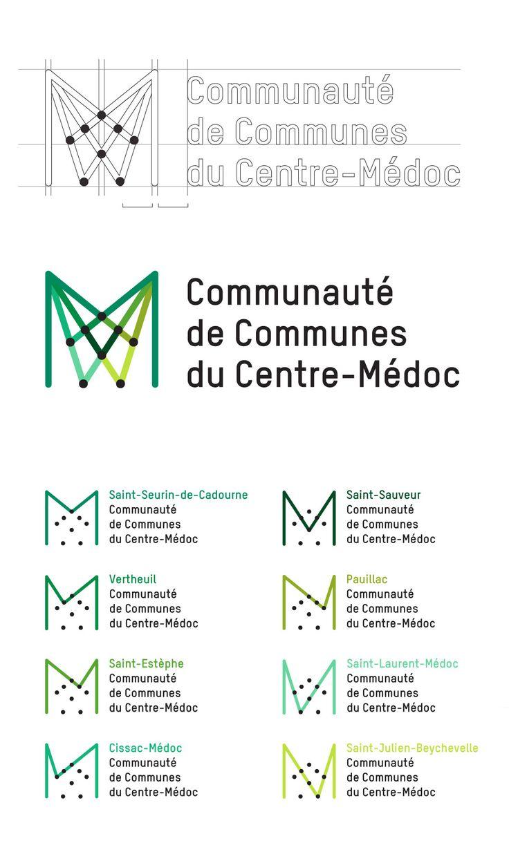 stéréo buro graphisme print et web  Logo/linéaire/