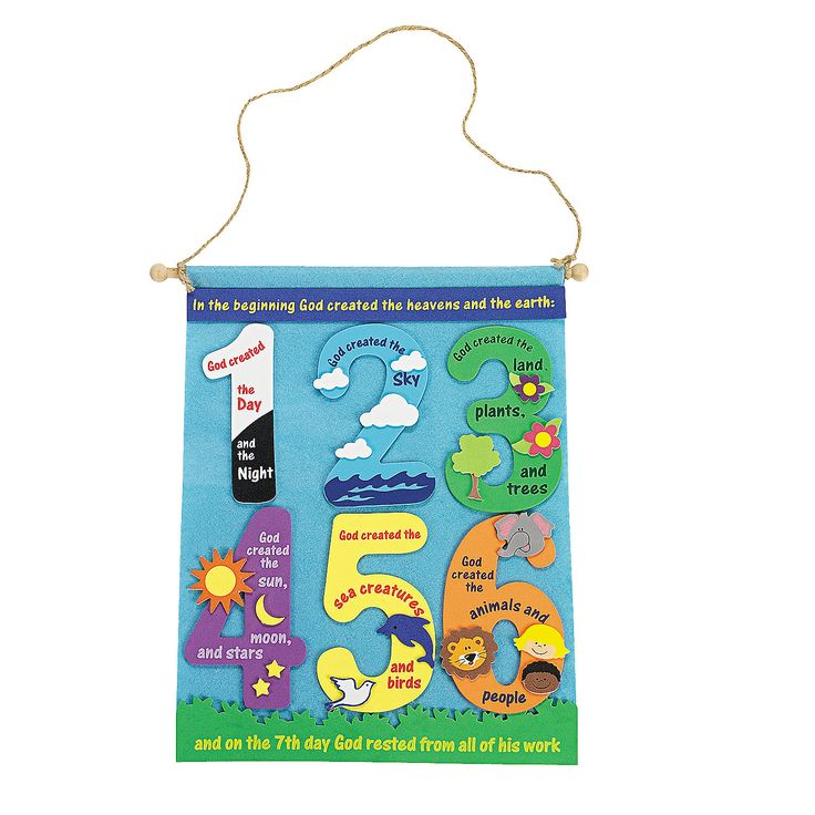 Creation Banner Craft Kit - OrientalTrading.com