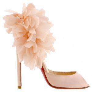f07880c0541a5 little shoes clip art christian louboutin white satin bridal shoes ...