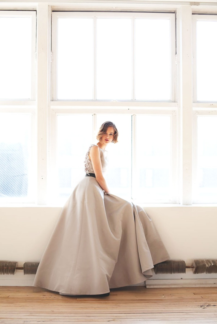 Trying to find a reason to wear this gown. Katie Ermilio F/W '12 Look Book