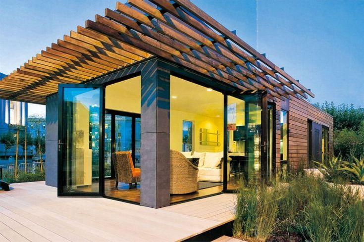 Holz Fertighaus 21 umweltschonende Ideen Fertighäuser