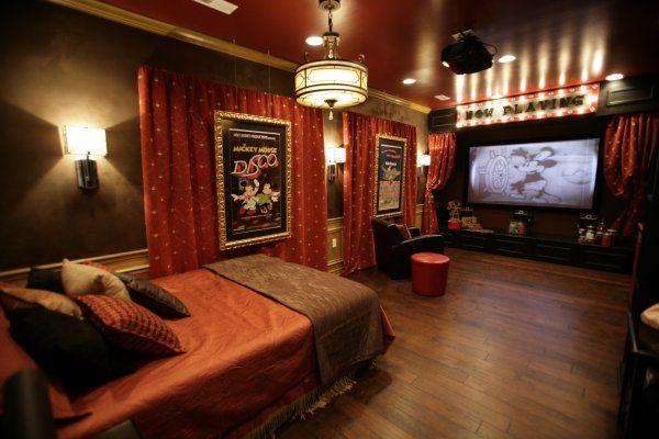 Vintage Disney room