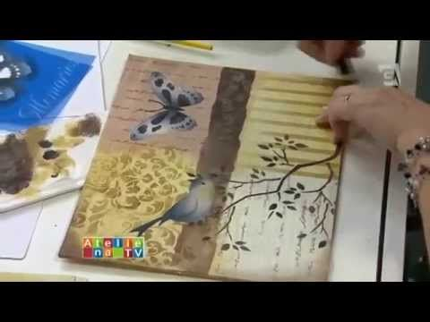 Stencil OPA - 23/04/15 - Mayumi Takushi - Pássaro Azul - YouTube