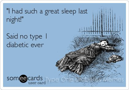 That's the truth!  What's it like to sleep all night?