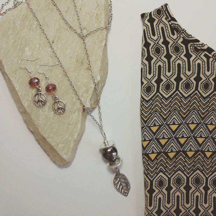 Bohemian bijoux - Necklace & earrings http://www.artemisiashop.it/shop-online/accessori-moda/