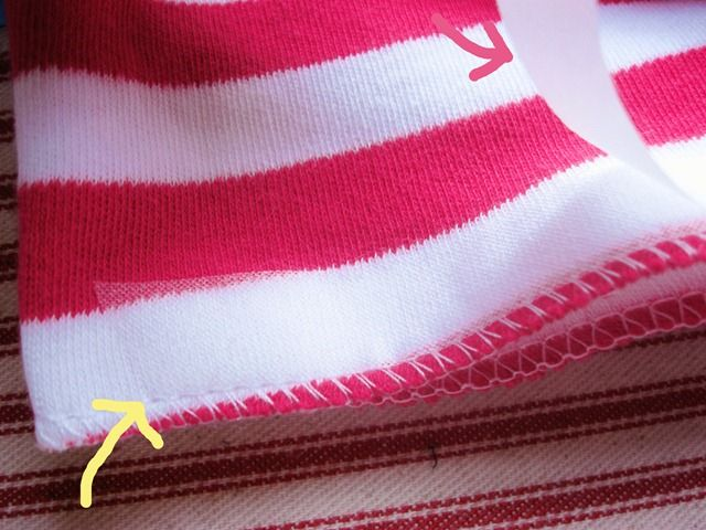 hemming knits tutorialSewing Knits, Heming Knits, Side Trips, Knits Steam A Seam, Hemmings Knits, Serge Knits, Fabrics, Knits Tute, Crafts