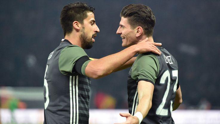 Mario Gomez had put Germany 2-0 ahead in Berlin