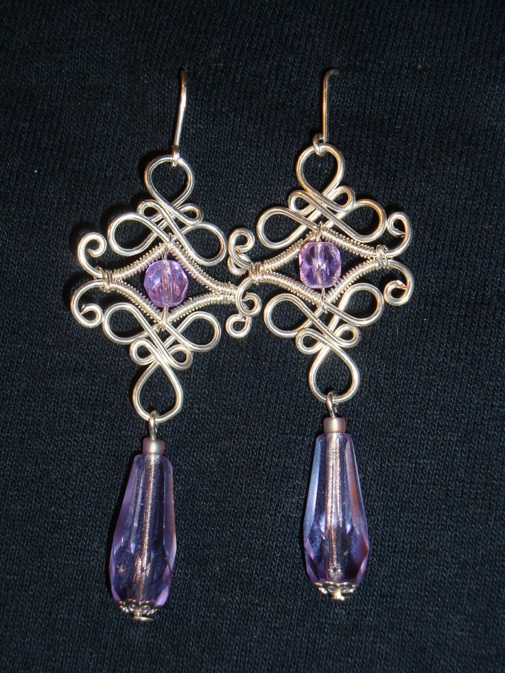 Gear Wire: Earrings -wire together findings.... !