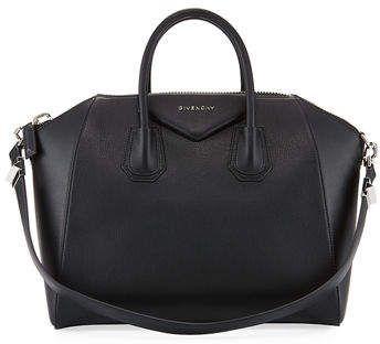 bf242fc4ea5 Givenchy Antigona Medium Sugar Goatskin Satchel Bag | Products ...