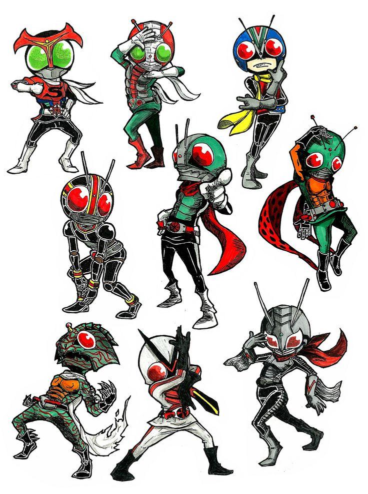 Kamen Rider voguing