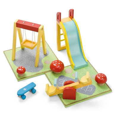 Dolls House Playground. Other Really Cute Dolls House Furniture On This  Site Too.