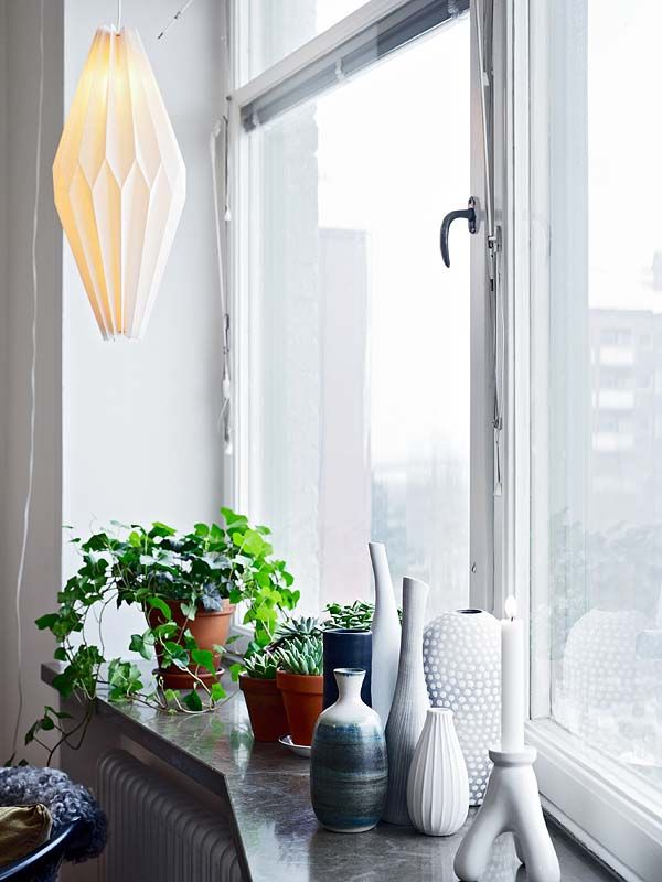cozy city windowsill.