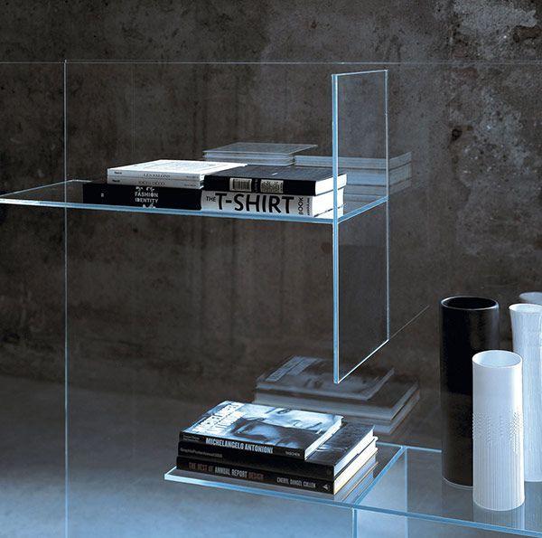 Modern Shelving Storage Bookcases Glas Italia