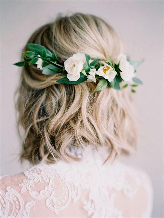 Pin Von Lea Auf Wedding Stuff Pinterest Haare Hochzeit Blumen