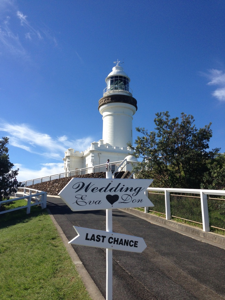 Byron Bay Lighthouse weddings #byronbay #weddings #lighthouse