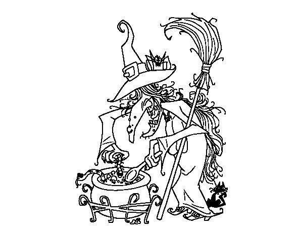 Dibujo De Cara De Bruja Para Colorear: 112 Best Dibujos De Halloween Para Colorear Images On