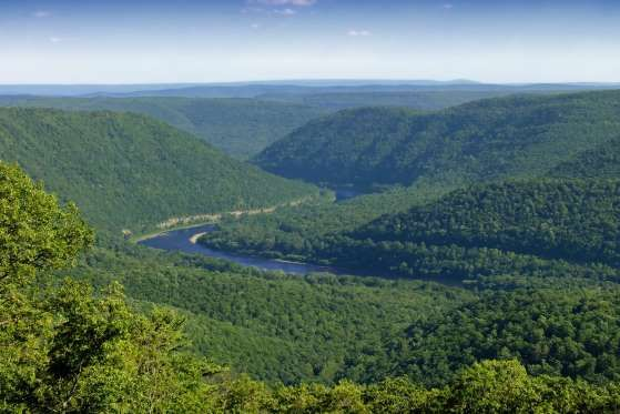 North Bend, PA Hyner View State Park has easy access to overlooks of the Susquehanna River and is a p... - nicholas_t/flickr.com