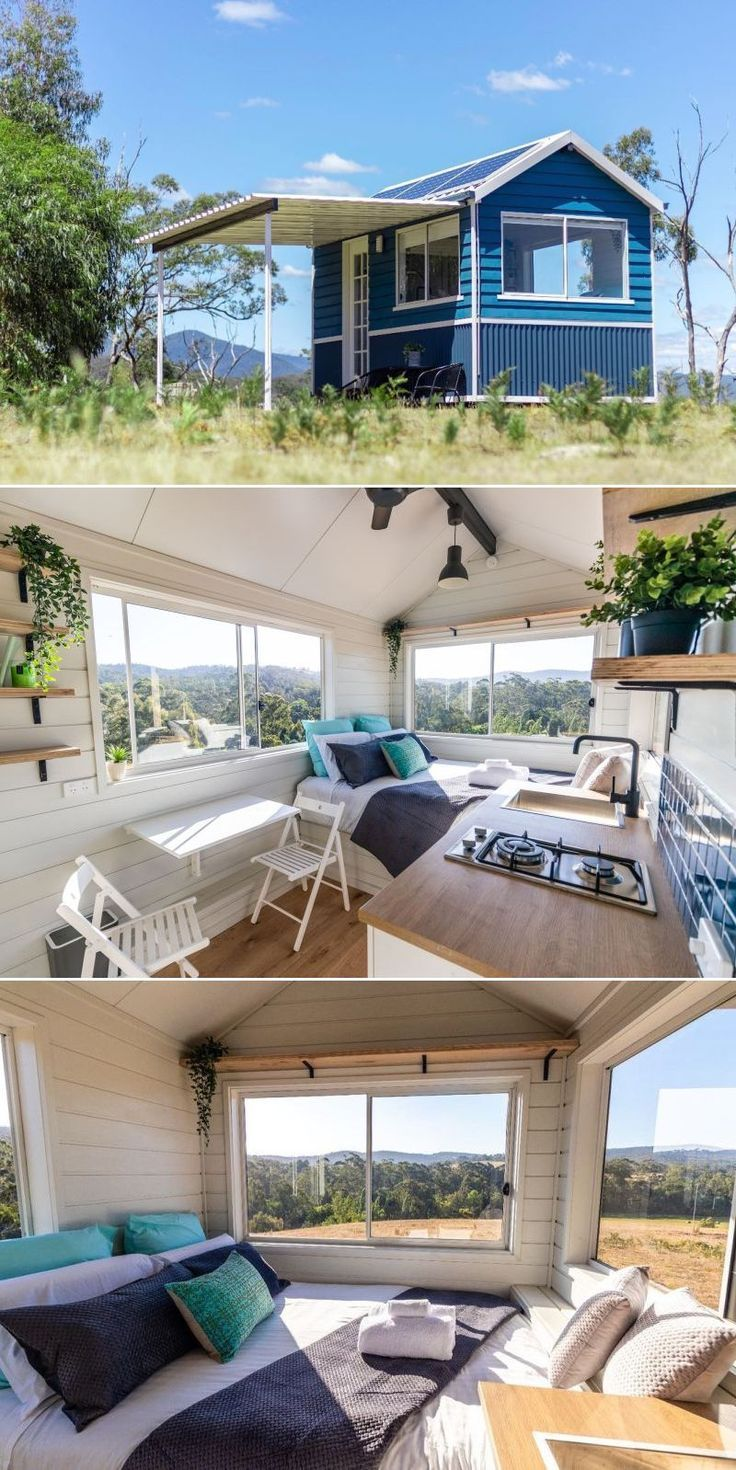 This Off-Grid Tiny House in Yarra Valley, Australia can be Rented