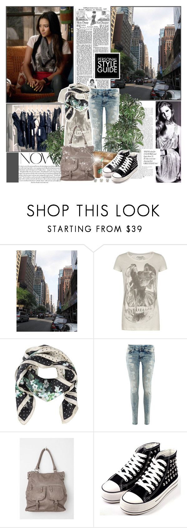 """Emily Fields"" by likepolyvore13 ❤ liked on Polyvore featuring Avenue, INC International Concepts, AllSaints, Dolce&Gabbana, H&M, Deena & Ozzy and Guide London"