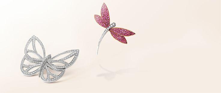 Van Cleef & Arpels - Fly & Flutter, Dragonfly pin