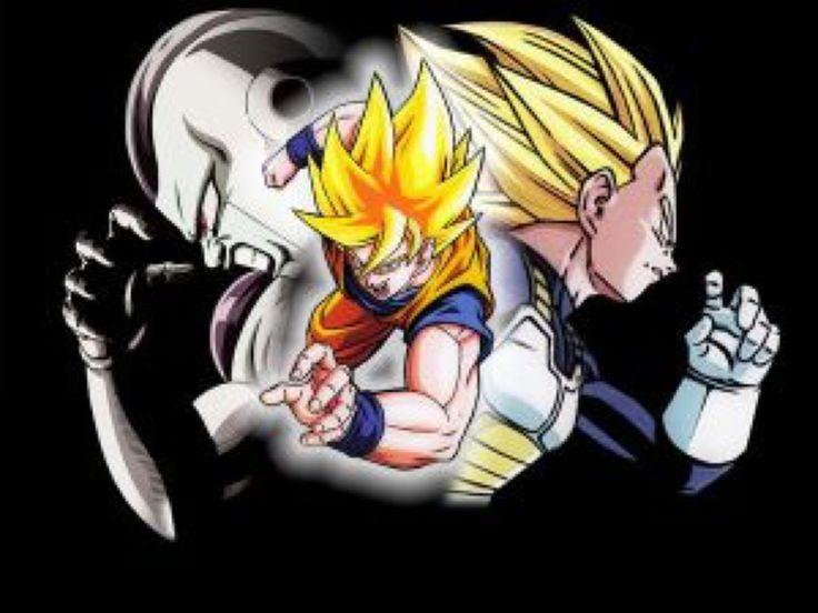 Wallpaper Goku vs Vegeta vs Freezer by Dony910 on @DeviantArt