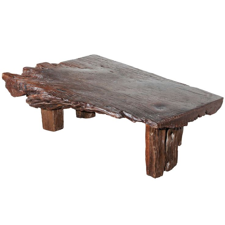 Slab Burl Wood Organic Vintage California Coffee Table At: 10 Best Images About Wood Desk And Table On Pinterest