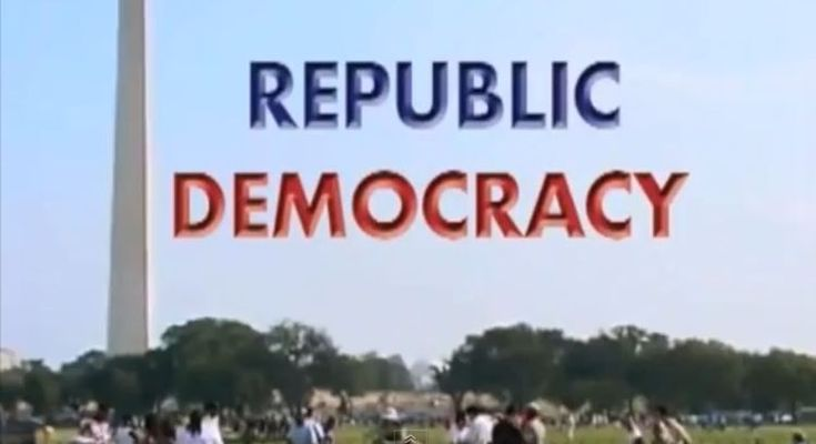 Why America is a Republic, not a Democracy (VIDEO)