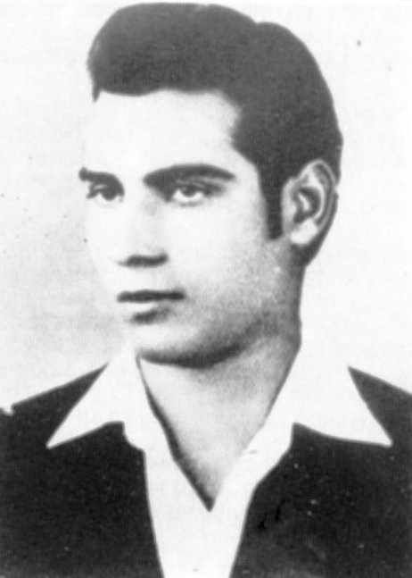 Evagoras Pallikarides (1938-1957): a member of EOKA during the 1955–1959 campaign against British rule in Cyprus. He joined one of the many EOKA guerrilla groups and participated in several operations. He was arrested on December 18, 1956. At the trial he said he did what he had to do as a Greek Cypriot seeking his freedom. He was sentenced to death by hanging for firearms possession. He was buried at the Imprisoned Graves in the Central Jail of Nicosia.