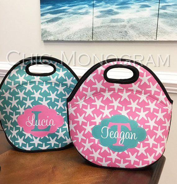 Insulated Lunch Bag Personalized