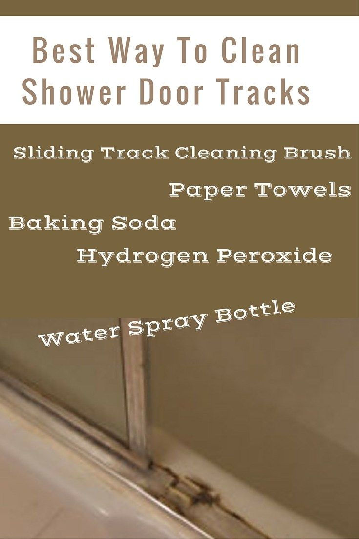 The best way to clean glass shower doors win glass for Best way to clean bathroom