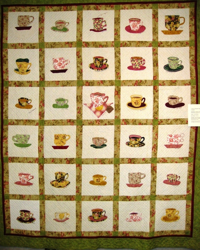 17 Best Images About Teacup Quilt On Pinterest Applique