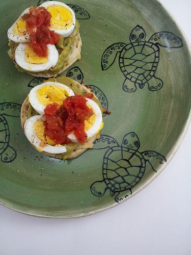 English muffins, Guacamole and Turtles on Pinterest