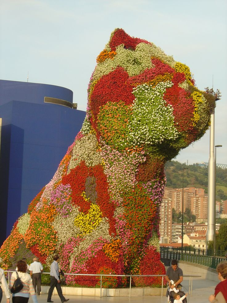 Jeff Koons Puppy #art #sculpture